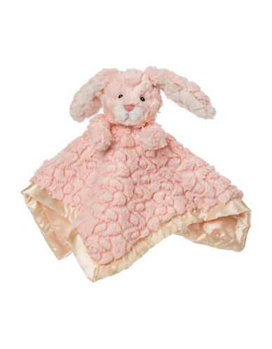 Mary Meyer Putty Nursery Bunny Character Blanket-PINK-One Size