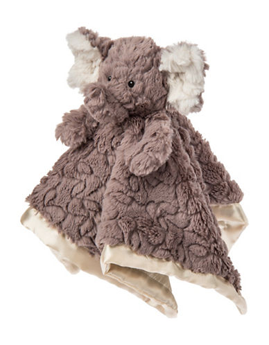 Mary Meyer Putty Nursery Elephant Character Blanket-GREY-One Size