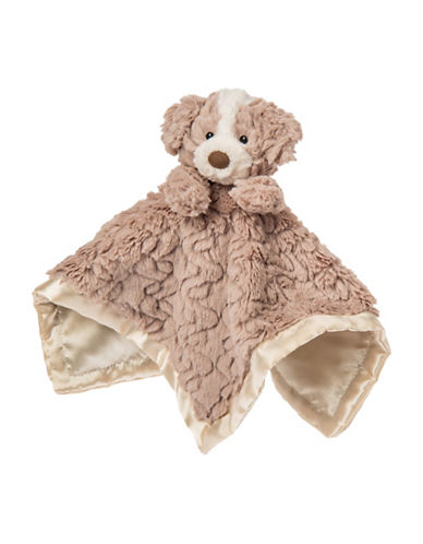 Mary Meyer Putty Nursery Hound Character Blanket-BROWN-One Size