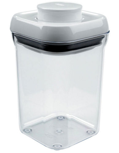 Oxo Pop Canister Small Square Short .9QT-CLEAR-1
