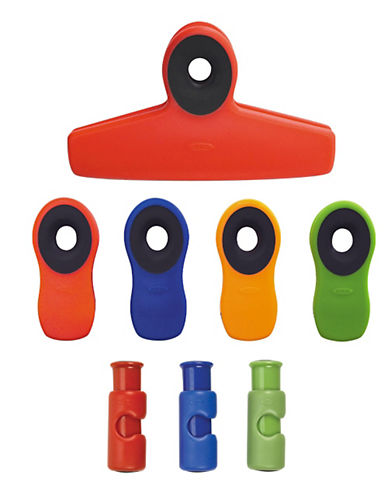 Oxo 8 Piece Clip Set Assorted Sizes-ASSORTED-One Size