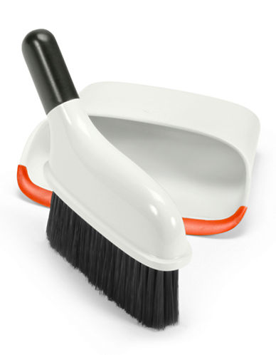 Oxo Compact Dustpan and Brush Set-WHITE-One Size