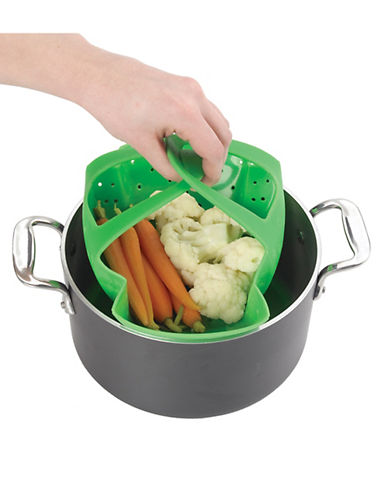 Oxo GG Silicone Steamer-GREEN-One Size