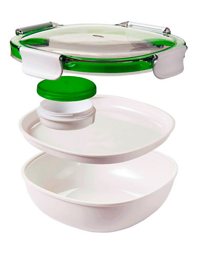 Oxo On-the-Go Salad Container-WHITE-One Size