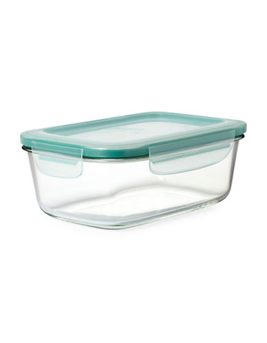 Oxo Snap Rectangular Container - 1.9L-CLEAR-One Size