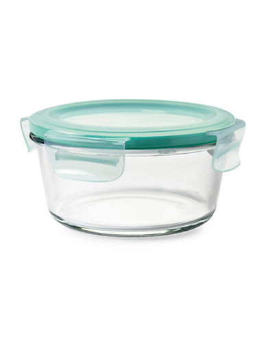 Oxo Snap Round Glass Container - 946ml-CLEAR-One Size