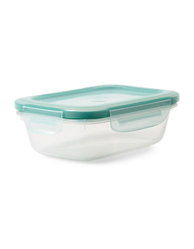 Oxo Snap Rectangular Container - 710ml-CLEAR-One Size