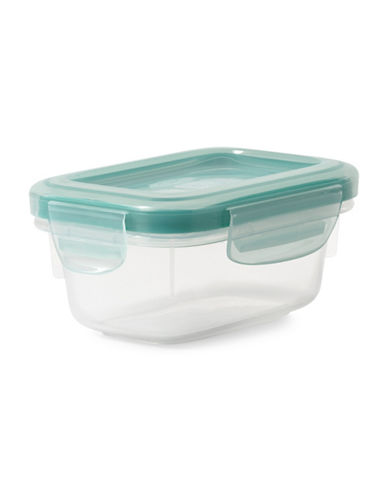 Oxo Snap Rectangular Container - 170ml-CLEAR-One Size