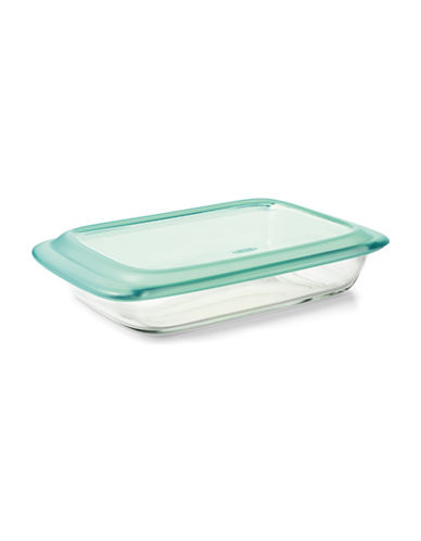 Oxo Rectangular Glass Baking Dish-CLEAR-One Size