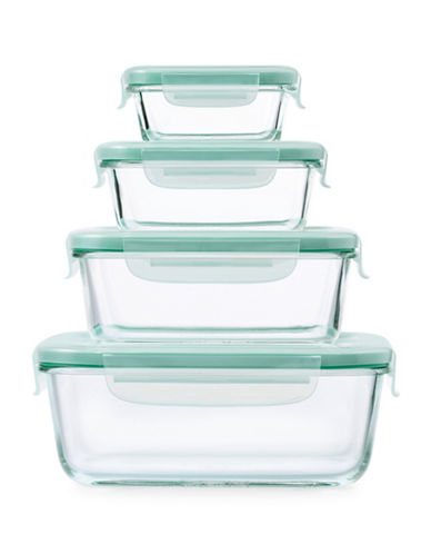 Oxo 8-Piece OXO Good Grips Rectangular Snap Set-BLUE-One Size 89350187_BLUE_One Size