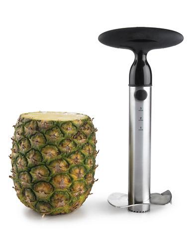 Oxo Stainless Steel Pineapple Slicer-BLACK-One Size