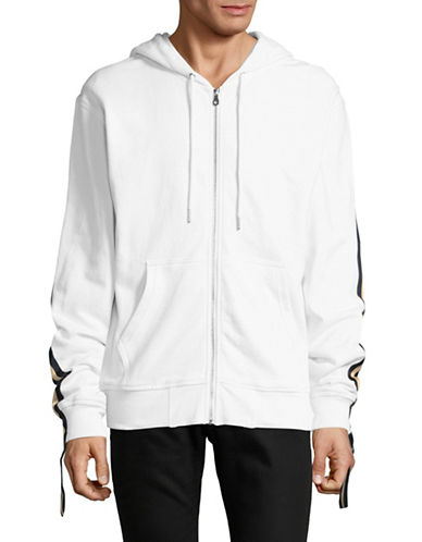 Hyden Yoo Athletic Hoodie-WHITE-Small 89451497_WHITE_Small