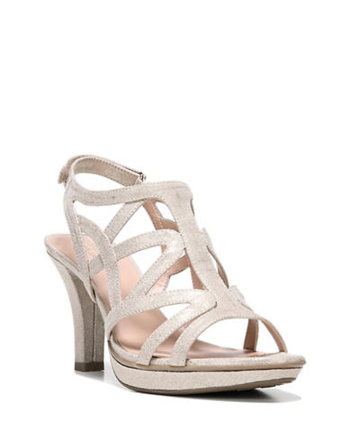 Naturalizer Danya Strappy Sandals-TAUPE-5.5