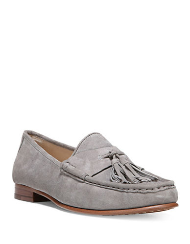 Sam Edelman Therese Leather Loafers-GREY-10 88633003_GREY_10