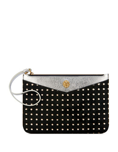 Anne Klein Frances Zippered Wristlet-MULTI-One Size