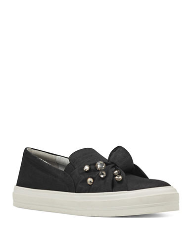 Nine West Orenda Slip-On Sneakers-BLACK-9