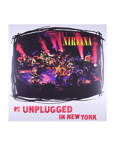Vinyl Nirvana - MTV Unplugged In New York 1993-BLACK-One Size