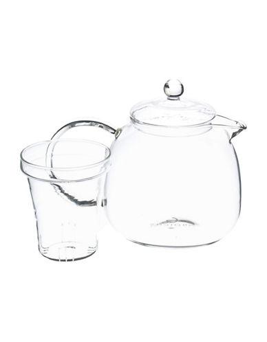 Grosche 1.25L Munich Infuser Teapot-CLEAR-One Size