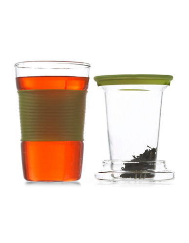 Grosche 350ML Infuz Infuser Tea Mug-GREEN-One Size