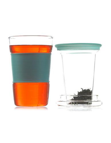 Grosche 350ML Infuz Infuser Tea Mug-BLUE-One Size