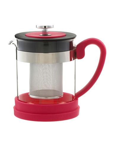 Grosche 600ML Valencia Infuser Teapot-PINK-450 ml