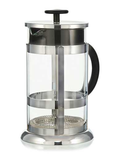 Grosche Chrome French Press Coffee Maker - 33.8 oz.-CLEAR-1000ml
