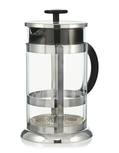 Grosche Chrome French Press Coffee Maker - 11.8 oz.-CLEAR-350 ml 88421605_CLEAR_350 ml