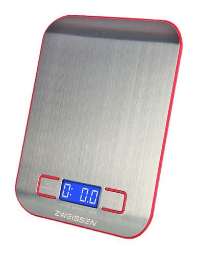Grosche Aprilia Digital Kitchen Scale-RED-One Size