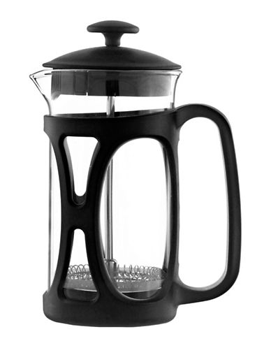 Grosche Basel French Press Coffee Maker - 11.8 oz.-BLACK-350 ml