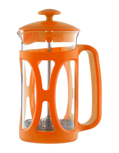 Grosche Basel French Press Coffee Maker - 11.8 oz.-ORANGE-350 ml