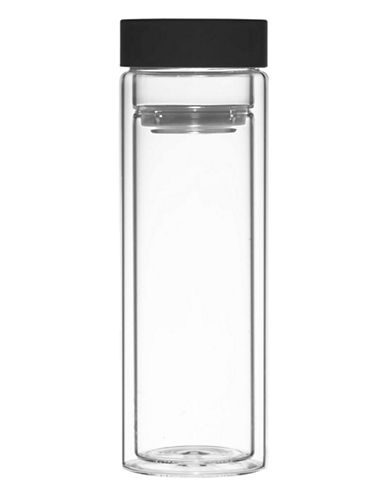 Grosche Travel Infuser Tumbler-BLACK-400 ml