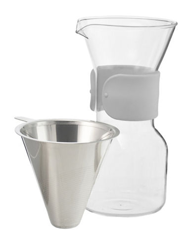 Grosche Seattle 600ml Pour-Over Coffee Maker-GREY-One Size