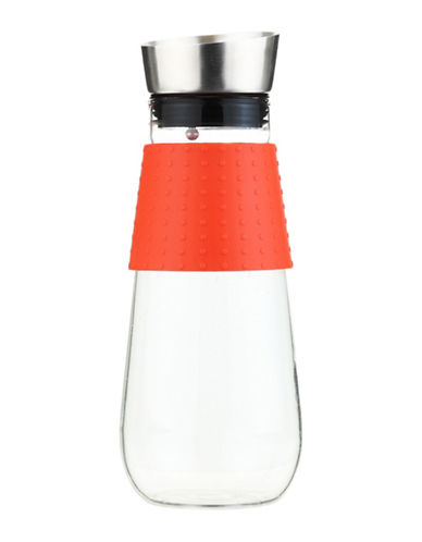 Grosche Maui 1L Water Pitcher and Fruit Infuser-ORANGE-One Size