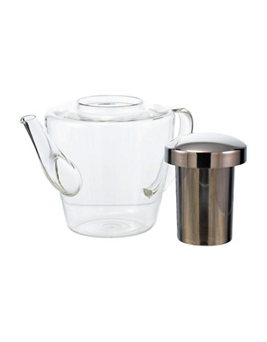 Grosche Sicily 1.2L Infuser Teapot-CLEAR-One Size