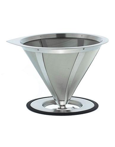 Grosche Ultramesh Stainless Steel Coffee Dripper-STEEL-One Size