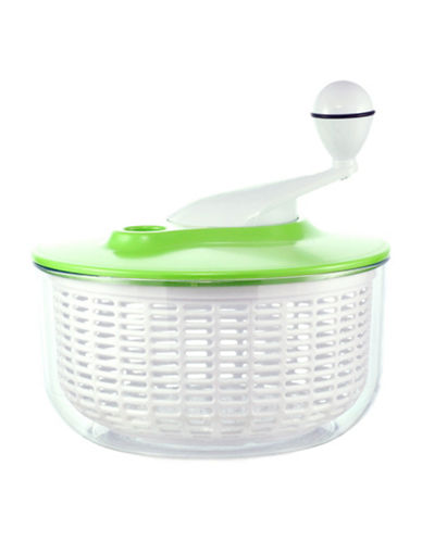 Grosche Large Salad and Fruit Spinner-WHITE-One Size