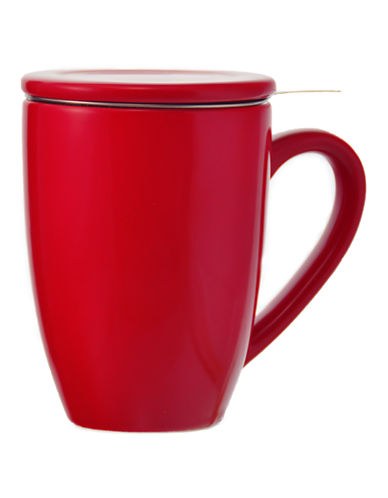 Grosche Kassel Infuser Mug-RED-One Size