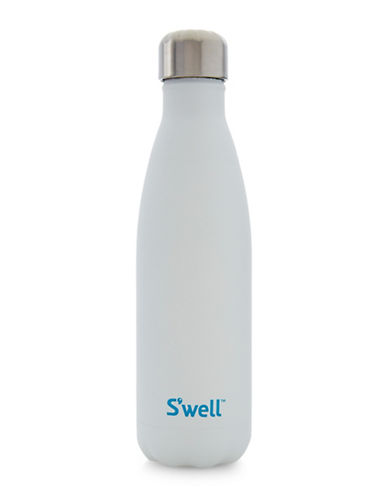 S'Well Quartz-Moonstone-Look Bottle-WHITE-One Size