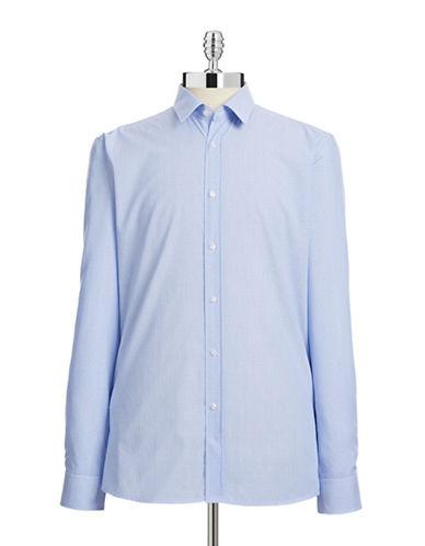 Hugo Dobby Cotton Sport Shirt-LIGHT BLUE-EU 39/US 15.5