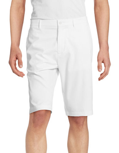 Boss Green Hayler Water-Repellent Shorts-WHITE-34