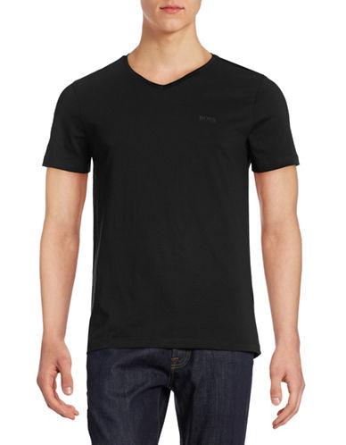 Boss Green C-Canistro Slim-Fit T-Shirt-BLACK-Medium