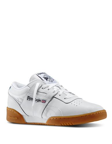 Reebok Mens Workout Low Sneakers-WHITE-11