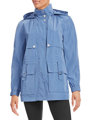 London Fog Patch Pocket Anorak Jacket-BLUE-X-Small 87974632_BLUE_X-Small