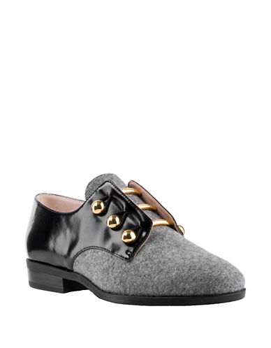Nine West Jon Loafers-BLACK/GREY-5