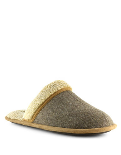 Dockers Durham Tweed Slippers-TAN-11