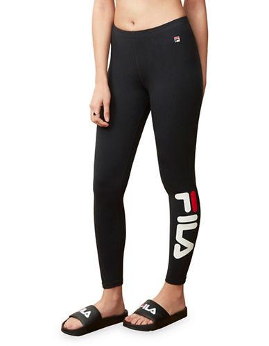 Fila Karlie Logo Leggings-BLACK-Small 89989369_BLACK_Small