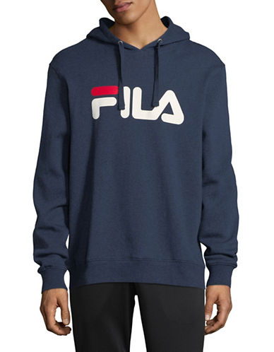 Fila Queens Cotton Hoodie-NAVY-X-Large