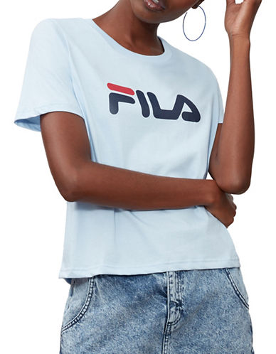 Fila Miss Eagle Tee-BLUE-Small