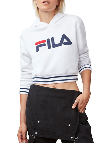 Fila Penelope Cropped Hoodie-WHITE-Large 89873479_WHITE_Large