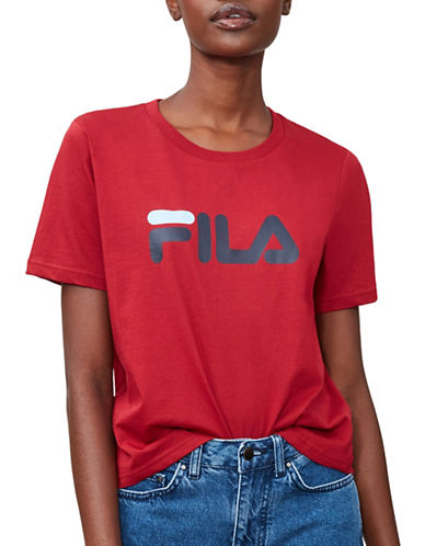 Fila Miss Eagle Tee-RED-X-Small